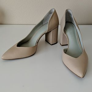 1.State Nude Leather Pumps 6